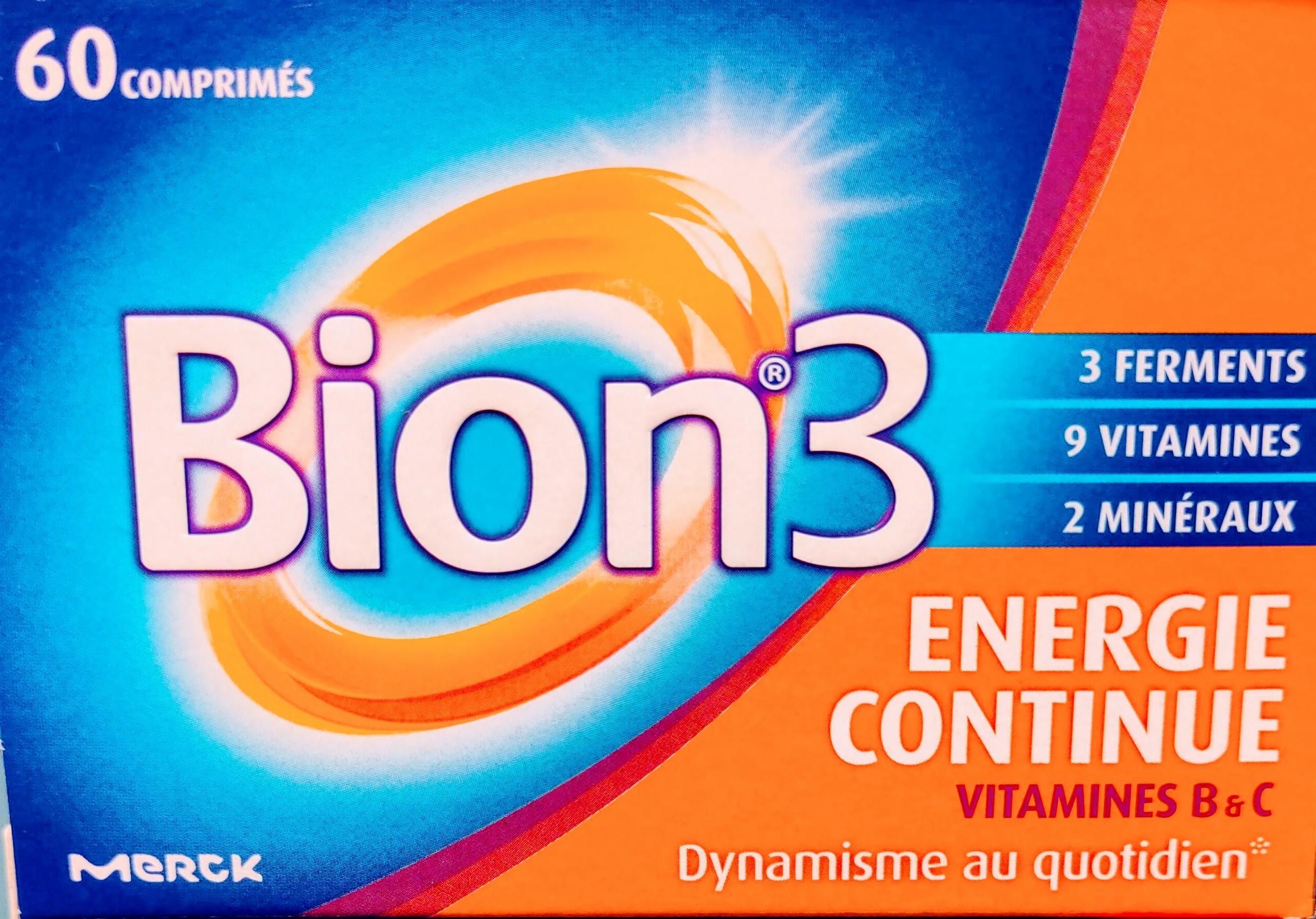 Bion3 Senior 30 Comprimidos. Complemento alimenticio formulado con activos que ayudan a mantener las defensas naturales del organismo y a reducir la fatiga