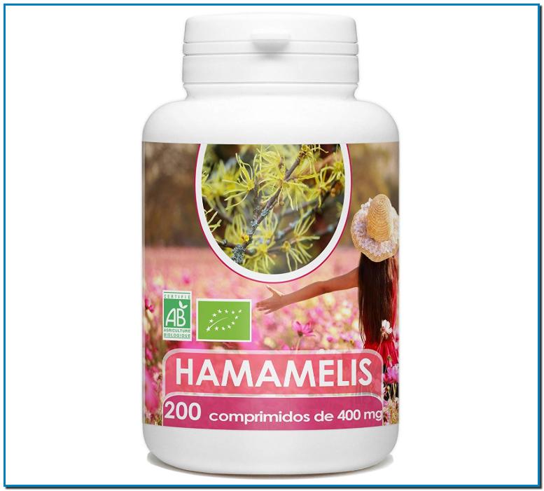 Hamamelis Orgánica favorece la circulación sanguínea ayuda a tratar varices y hemorroides ideal para el cuidado de tu piel gracias a sus propiedades cicatrizantes antiinflamatorias e hidratantes