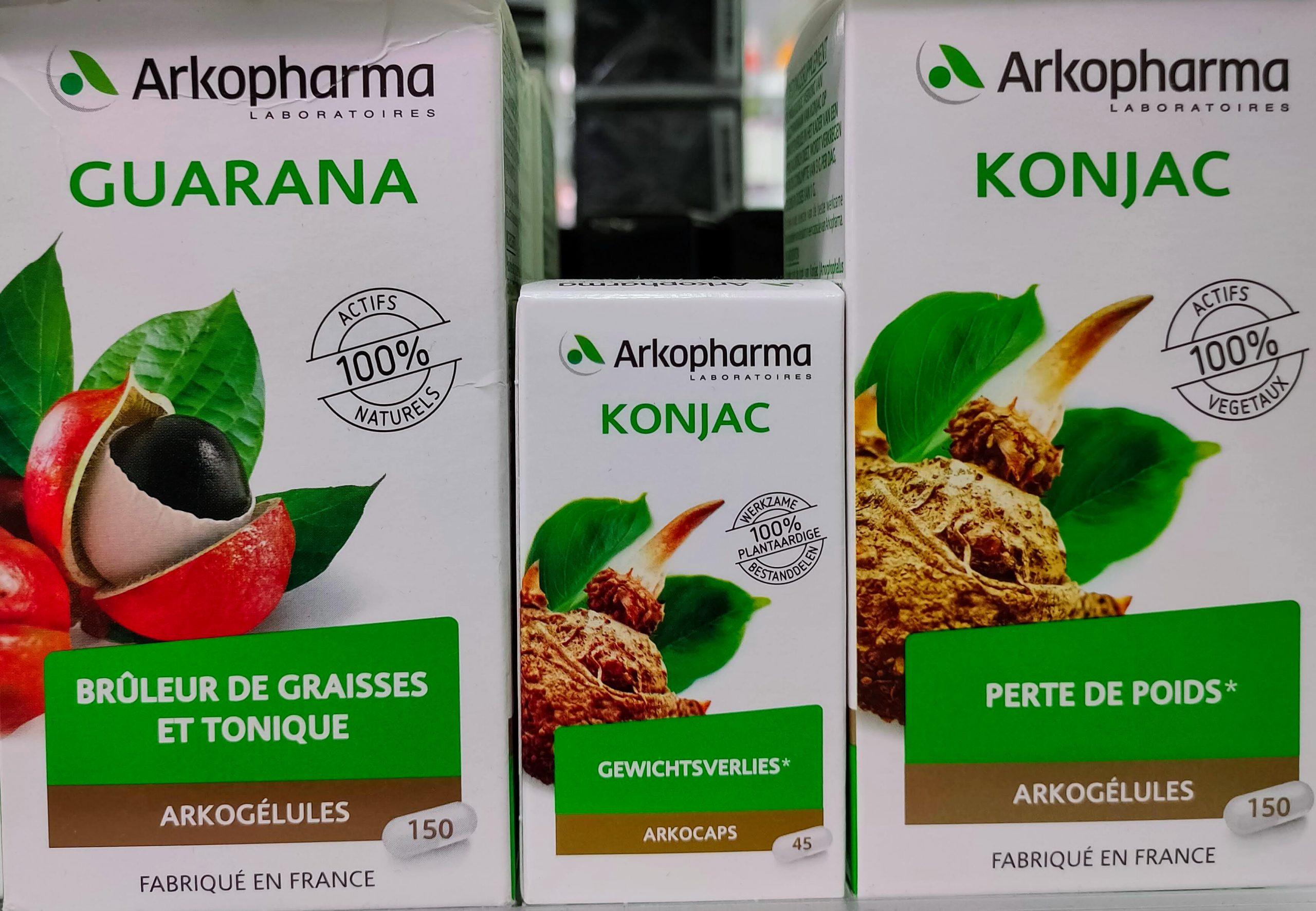 Arkocápsulas® Guaraná para favorecer la combustión de las grasas y ayudar a alcanzar el peso deseado