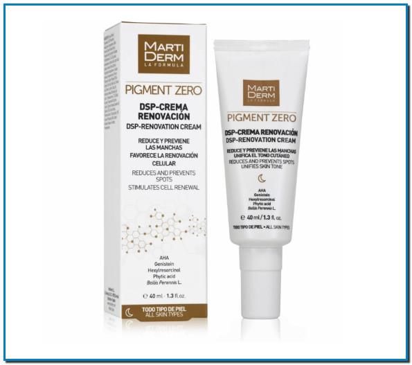 DSP-Crema Renovación - Todo tipo de piel con activos despigmentantes que actúan sobre las manchas. Con AHA de origen natural que favorecen la renovación celular.