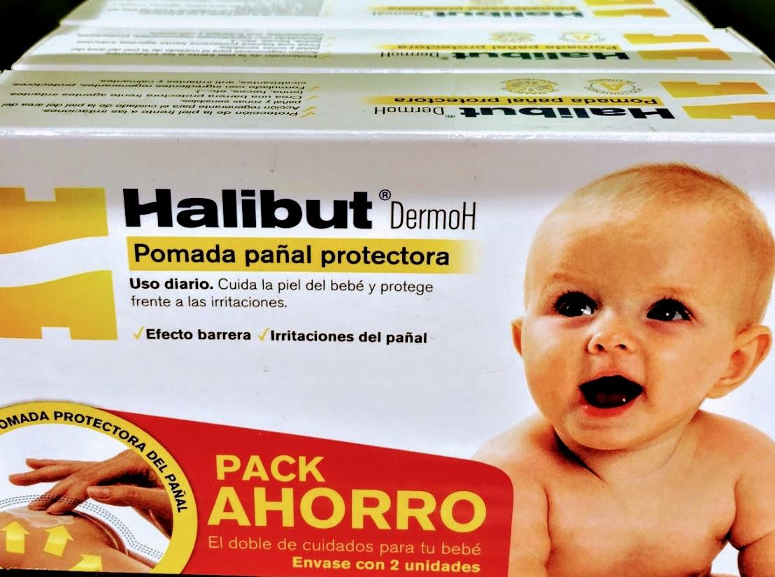 DermoH Pomada Pañal Protectora de Halibut Protege la piel creando una barrera frente agentes irritantes (orina, heces, etc.).