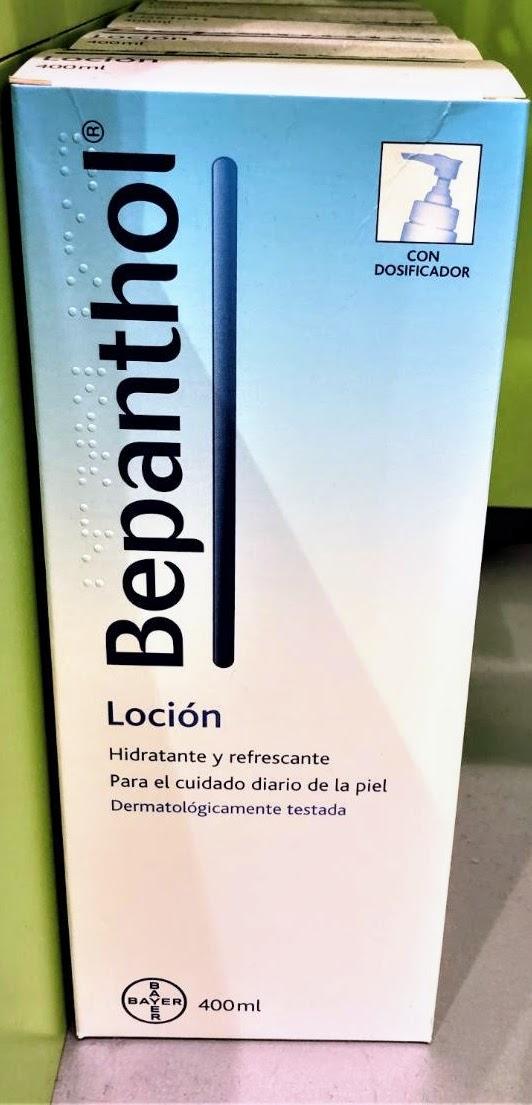 Bepanthol® Loción es una emulsión con Pantenol para el cuidado diario de la piel normal y seca