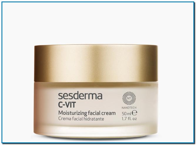 SESDERMA C VIT Crema HidratanteC VIT Crema hidratante facial de máxima actividad antioxidante, hidratante, antiarrugas e iluminadora, que devuelve a tu piel su vitalidad y luz natural.