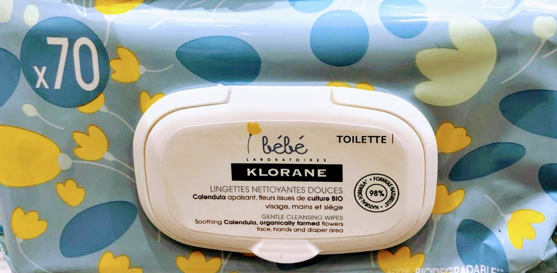 Klorane - Toallitas Cara y Manos Klorane Bebé