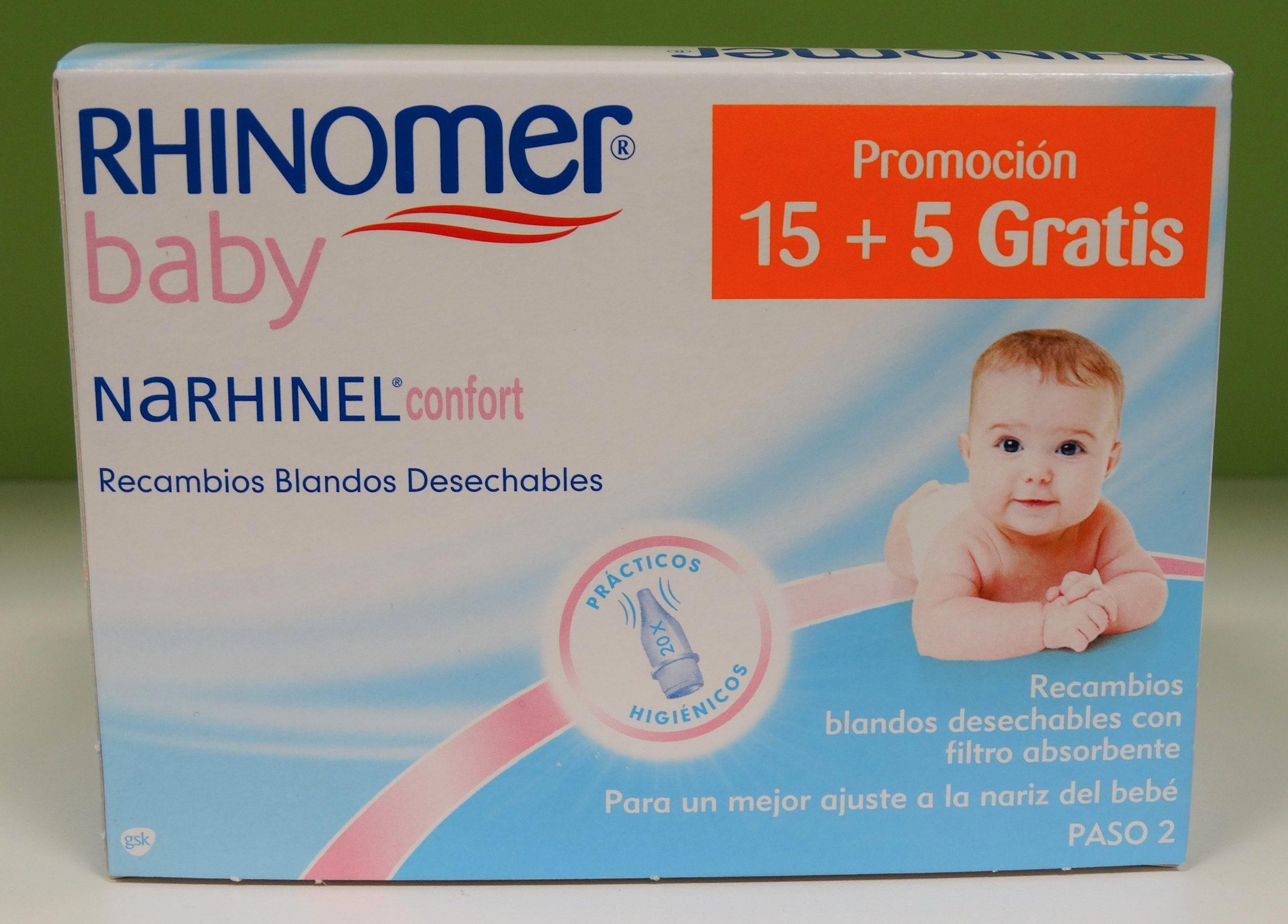 Comprar AGUA DE MAR RHINOMER BABY FUERZA CERO SPRAY NASAL EXTRA SUAVE 115ML en Gran Farmacia Andorra