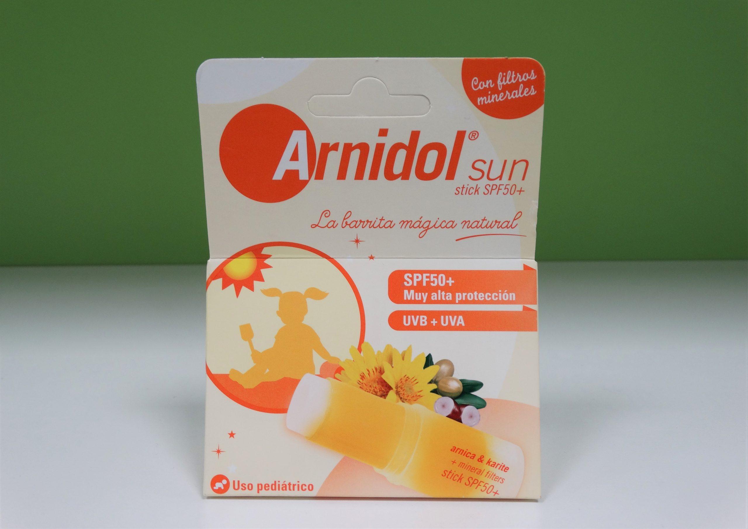 COMPRAR ARNIDOL Sun stick SPF 50+, alta protección UVA y UVB de ARNIDOL en GRAN FARMACIA ANDORRA ONLINE