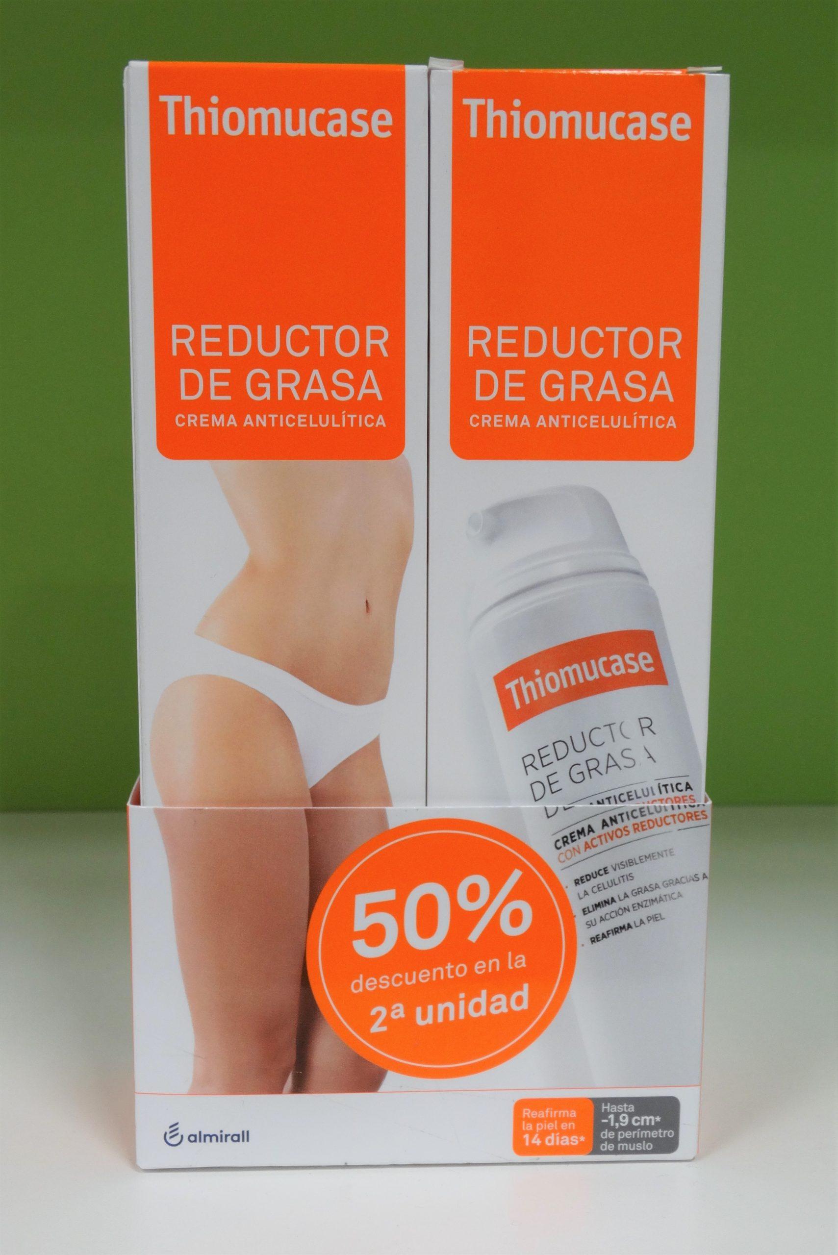 Thiomucase a modo de reductor de grasa para las zonas rebeldes Thiomucase ofrece un producto en forma de Stick que trata y elimina la celulitis concentrada y localizada