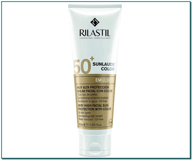 Comprar Rilastil Sunlaude - Emulsión Facial con Color y Protección Solar SPF 50+, 50 ml de Rilastil