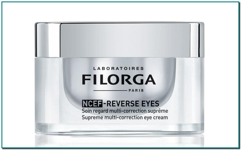 Comprar NCEF-Reverse Eyes, de Filorga Ayuda a tratar las arrugas, firmeza, luminosidad, ojeras, bolsas...Consigue asíuna completa renovación de la mirada con un único tratamiento, gracias a su innovadora formulación.