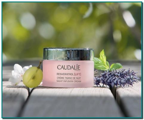 Producto emblemático de Caudalie, la Crema Tisana de Noche antiarrugas reconfortante regenera la piel para estar bella al despertar: los rasgos están descansados y alisados