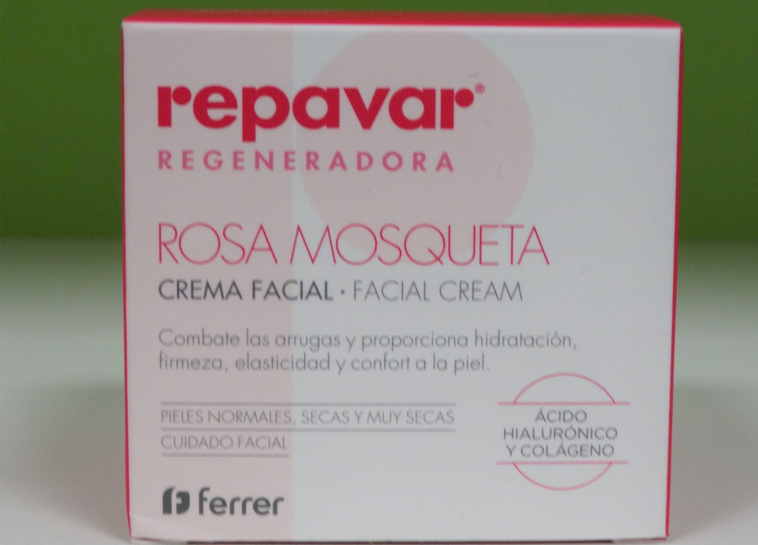 Repavar Regeneradora Crema Nutre y repara. Todo tipo de pieles 125ml de REPAVAR Nutre y repara la piel intensamente. previene la sequedad y proporciona elasticidad