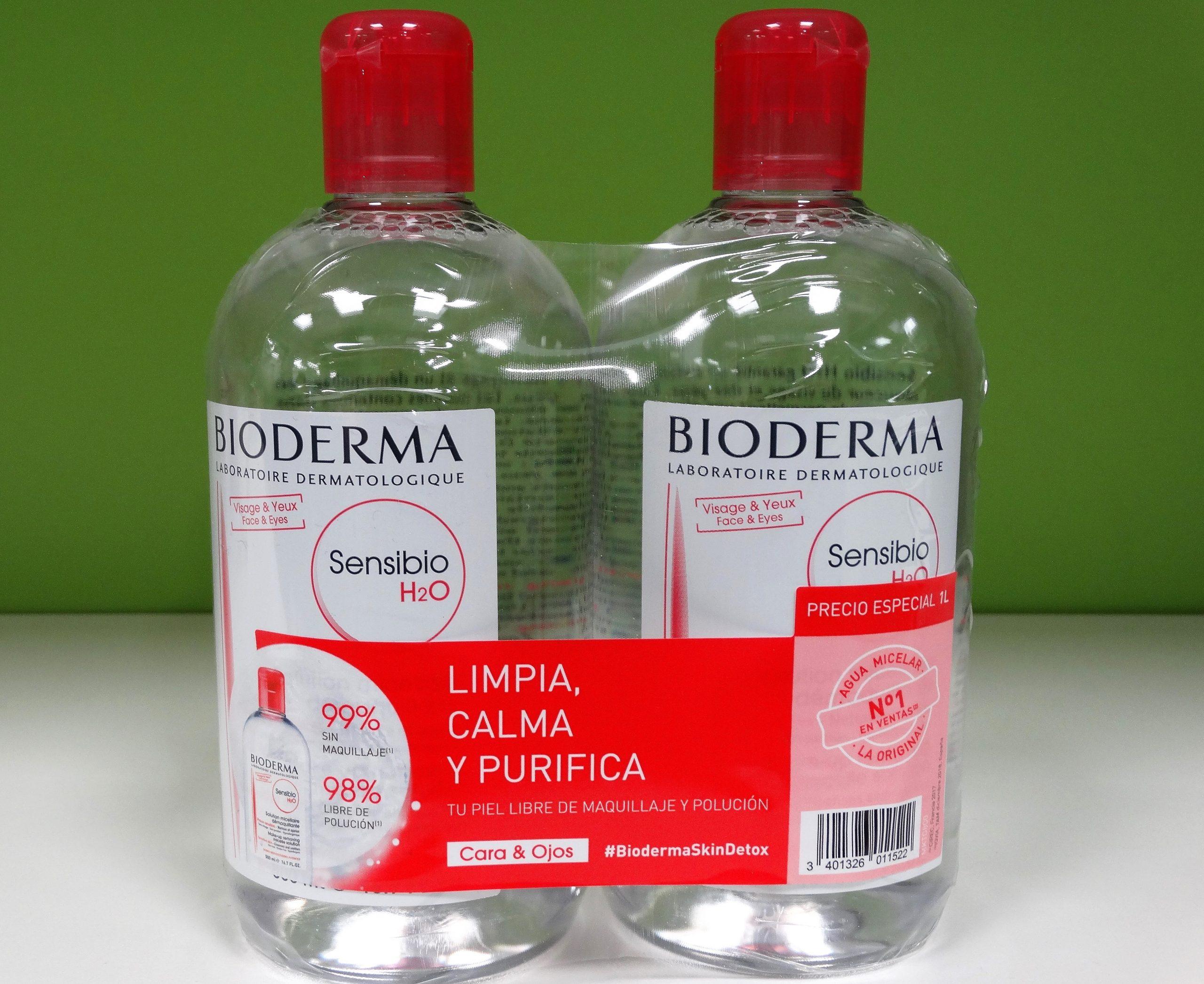 Bioderma Sensibio Gel Moussant Gel espumoso limpiador suave. Alivia e hidrata. Sin jabón. Sin perfume. Sin parabenos. Hipoalergénico