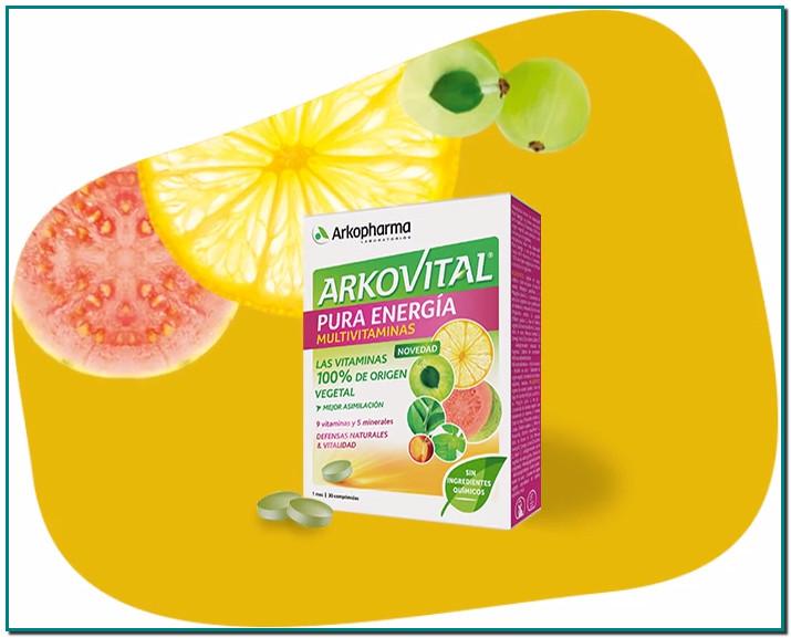 Arkovital® Pura Energía Cambia de vitaminas, pásate a lo 100% vegetal «En Laboratorios Arkopharma, sabemos que los trastornos cotidianos pueden ser abordados con productos más afines a la fisiología del cuerpo.»