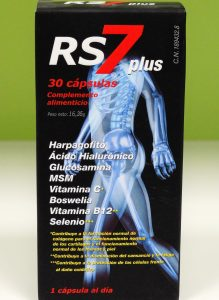 RS7 Articulaciones es elcomplemento alimenticio de última generación siendo el constituyente esencial de huesos, tendones, ligamentos, cartílagos y articulaciones en general.