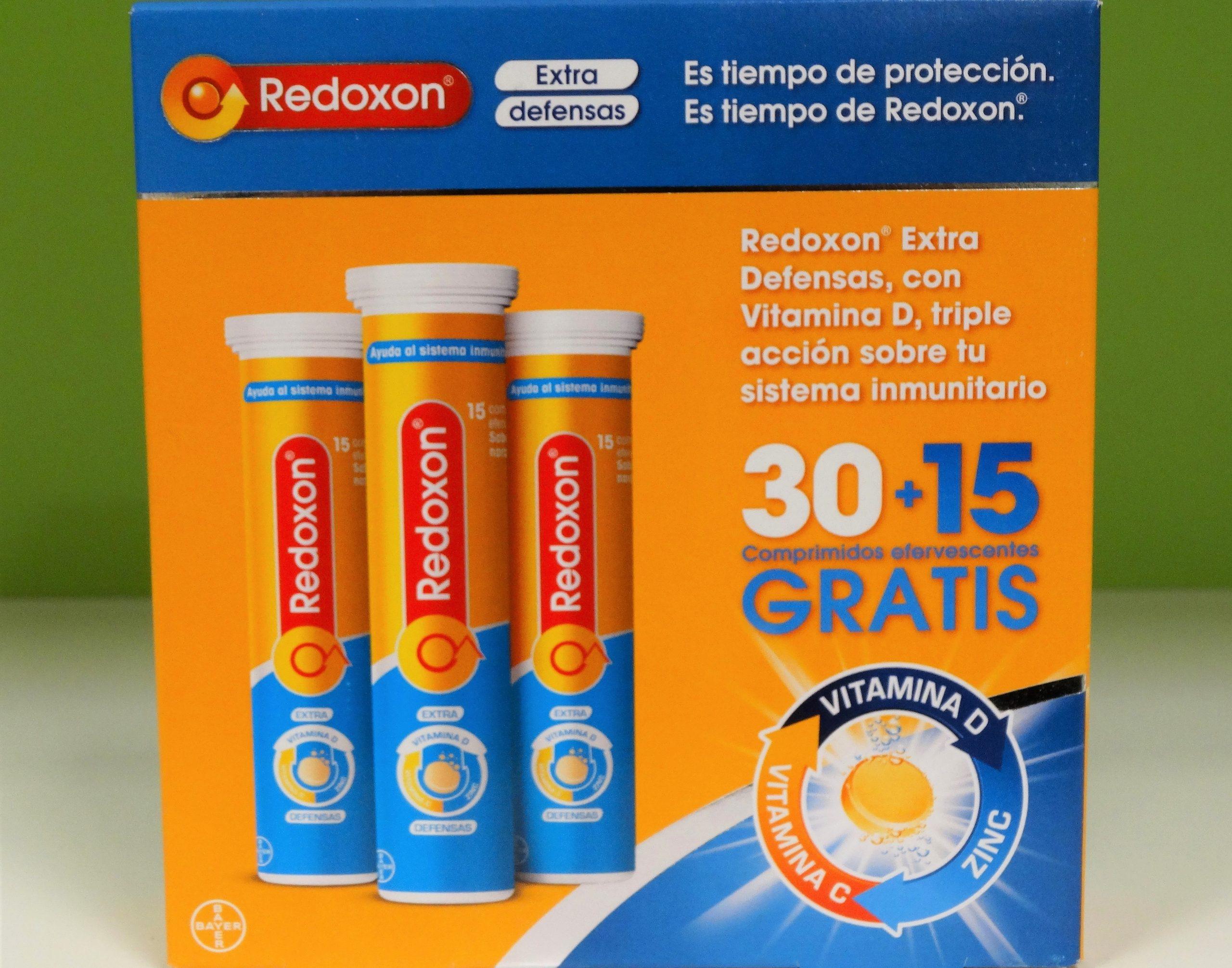 combinación de 1,000 mg de Vitamina C, 10mg de Zinc con un extra de Vitamina D (10 µg) especialmente desarrollada para ayudar al sistema inmunitario