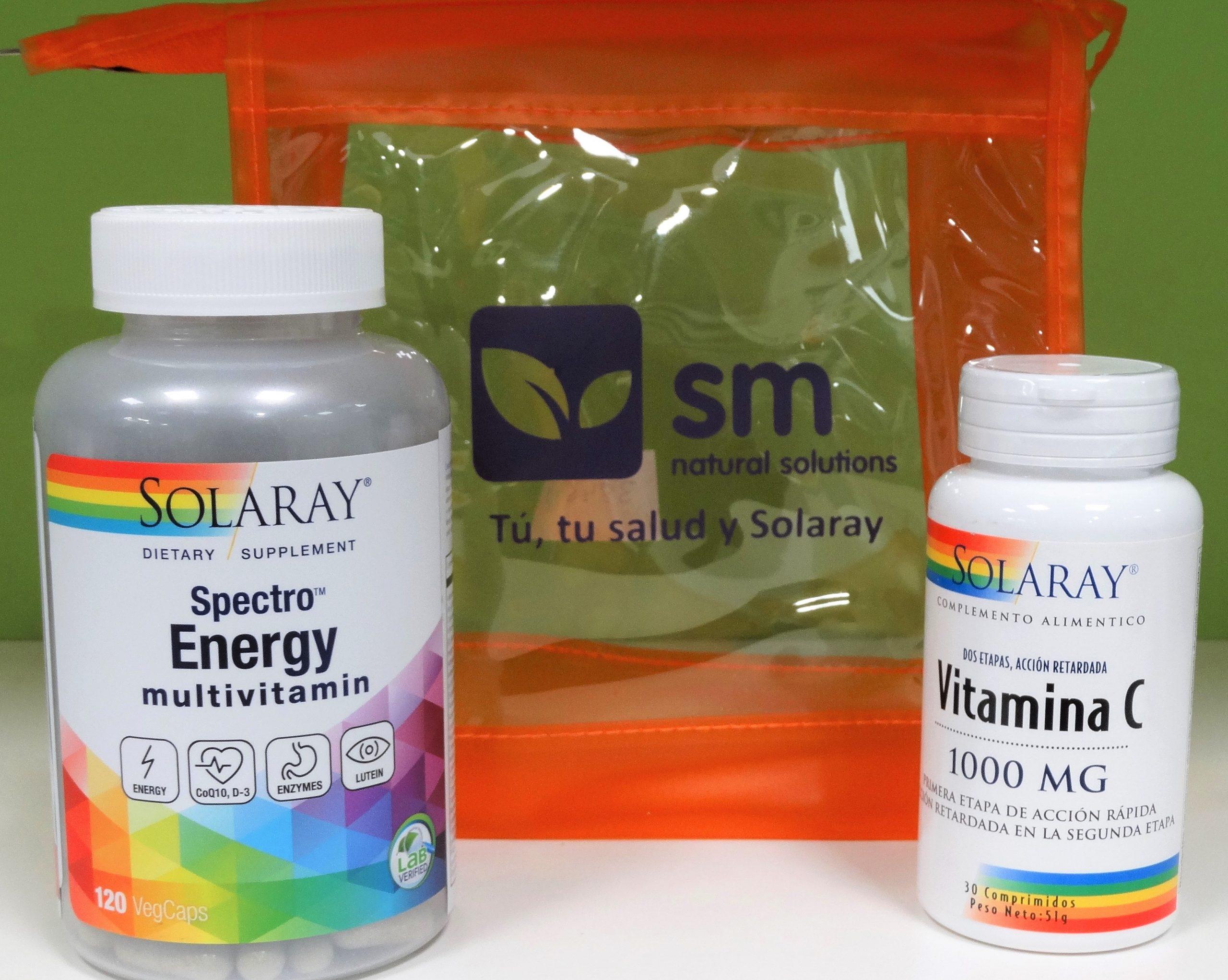 Multivitaminas Spectro Energy - Solaray - 120 cápsulas Aporta más de 80 ingredientes para un máximo apoyo nutricional aumentando la resistencia al cansancio y mejorando la respuesta general del organismo.