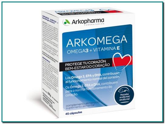 ARKOMEGA 3 Arkocápsulas® Omega 3 SALUD NATURAL SALUD DEL CORAZÓN Complementos alimenticios para la salud, el bienestar y la belleza