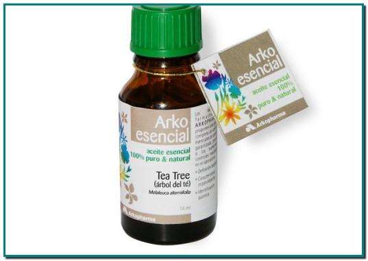 ARKOESENCIAL® ACEITE ESENCIAL DE ÁRBOL DE TÉ TRATAMIENTO PIOJOS Aceite esencial – 100% puro y natural