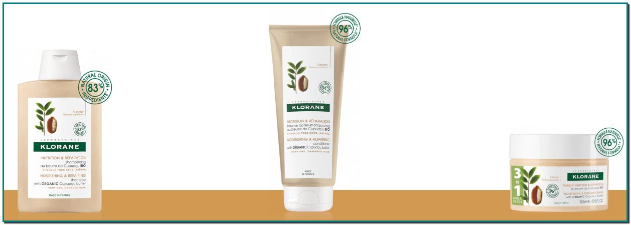 KloraneRitual capilar nutrición y reparación a la manteca de Cupuaçú bio NUTRITIVO Y REPARADOR