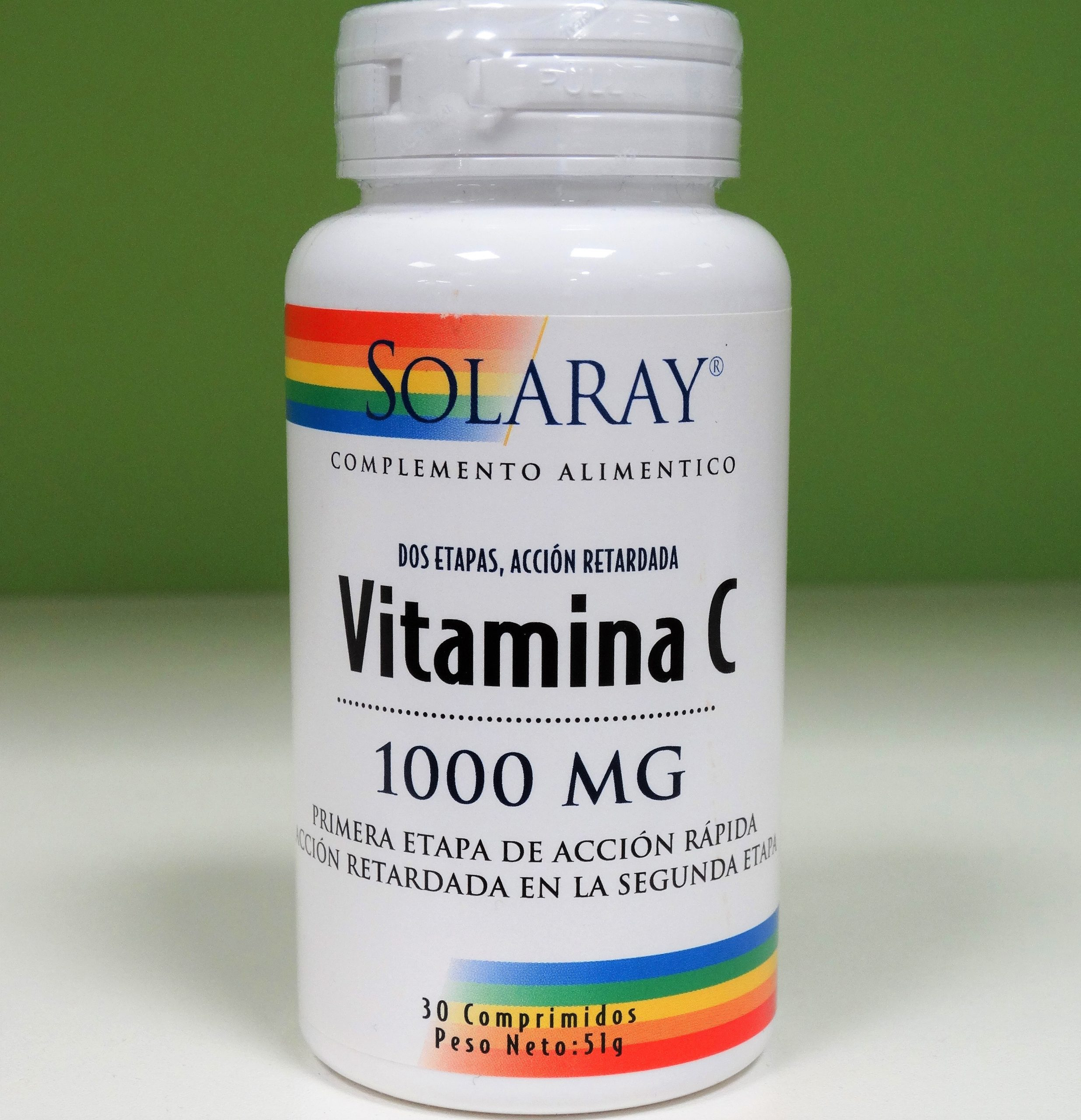 Comprar Solaray Vitamica C La Vitamina C es necesaria para el buen estado del sistema inmune, de los huesos, dientes y encías, así como para ayudar a regular la grasa y los niveles de colesterol en sangre