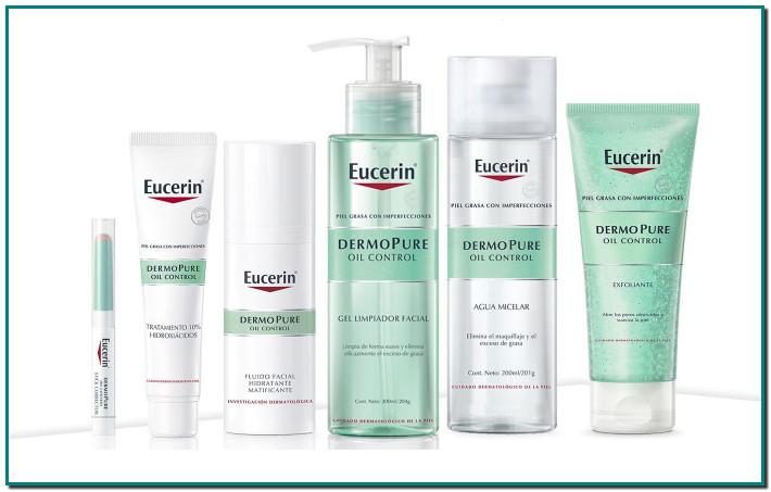 Eucerin DermoPure Oil Control Productos efectivos para el cuidado de la piel, para la piel propensa al acné y a sufrir imperfecciones
