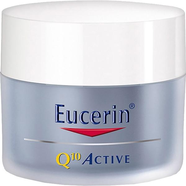 EUCERIN Q10 active noche crema antiarrugas para piel sensible tarro 50 ml