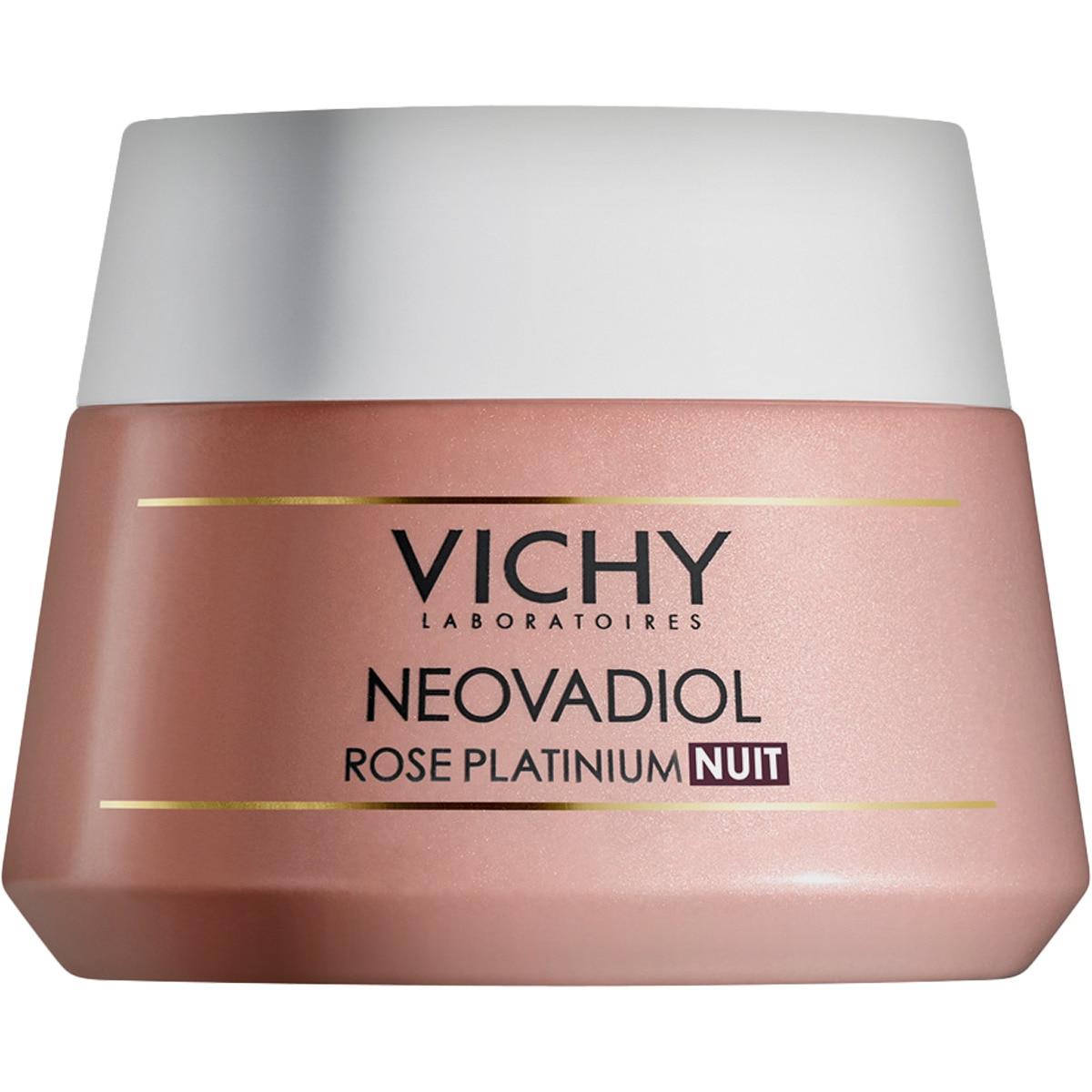 VICHY NEOVADIOL Rose Platinium Noche crema facial revitalizante y fortificante para todo tipo de piel tarro 50 ml