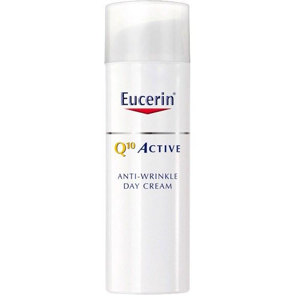 EUCERIN Q10 active día fluido antiedad revitalizante para piel sensible dosificador 50 ml