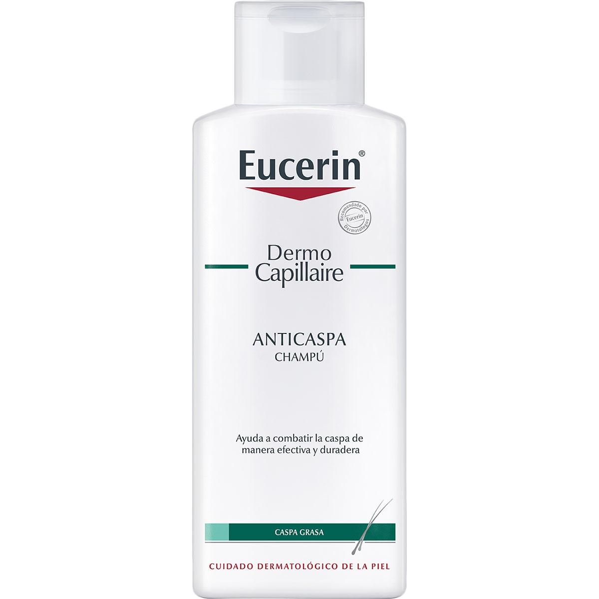 EUCERIN Dermo Capillaire champú anticaspa para cabellos grasos frasco 200 ml