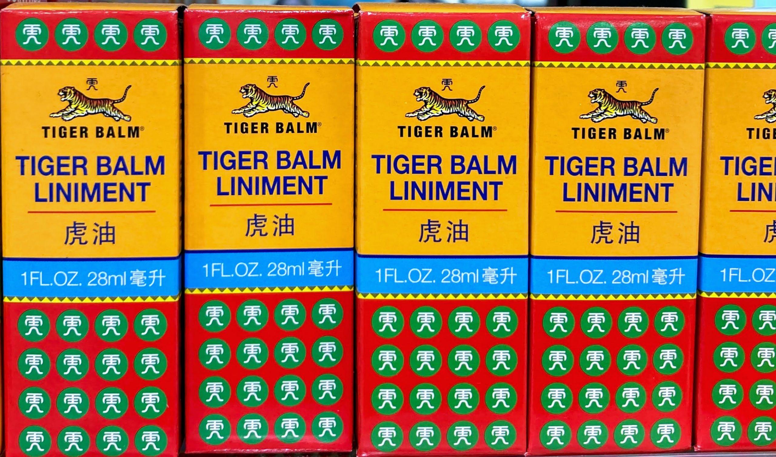 Tiger Balm Liniment 28ml Bálsamo Alivio del dolor muscular y articular. Alivia el dolor. Producto original de Tiger Balm