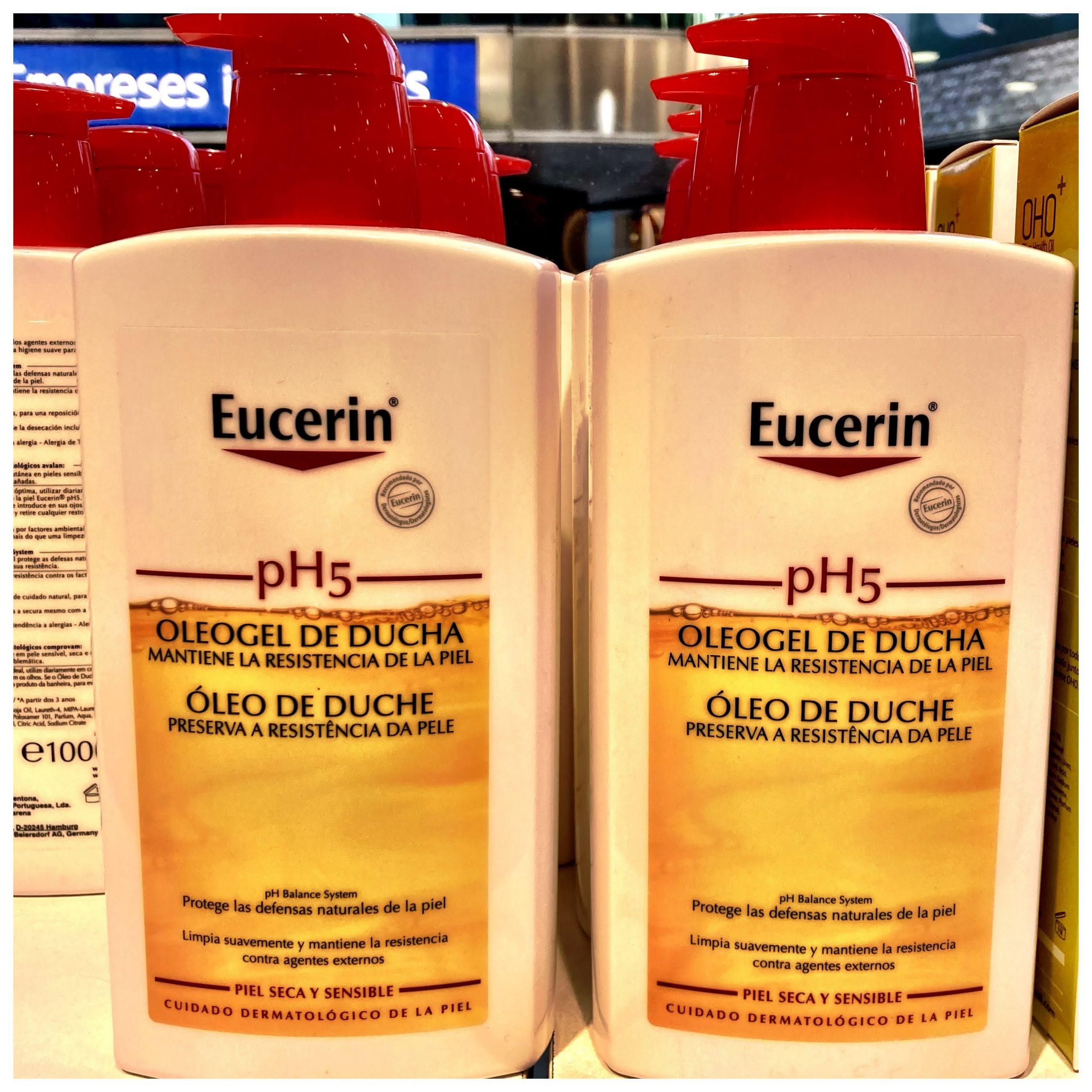 Eucerin pH5 Oleogel de ducha Regenera la protección natural de la pielUn agente limpiador diario de rica composición que preserva las defensas naturales de la piel y la protege frente a la deshidratación.