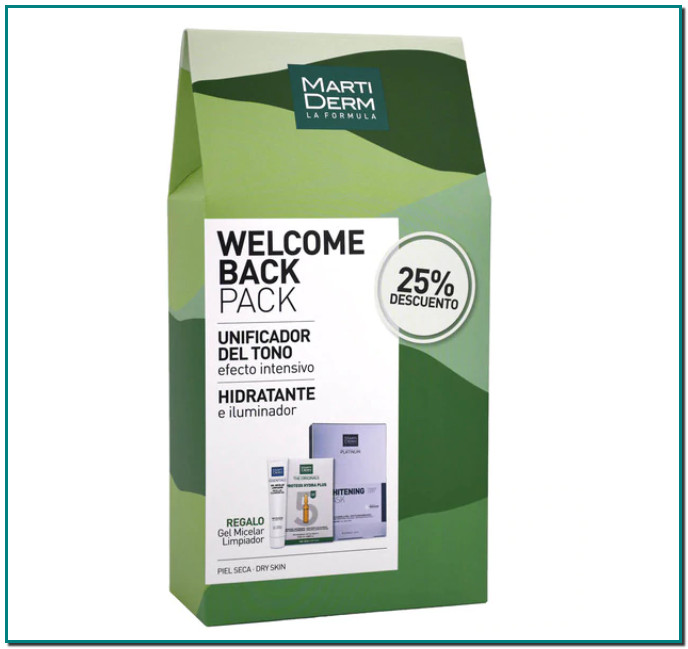 MARTIDERM Pack Welcome Back Whitening Martiderm