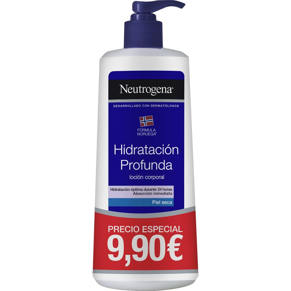 NEUTROGENA Hidratación Profunda loción corporal para piel seca dosificador 400 ml