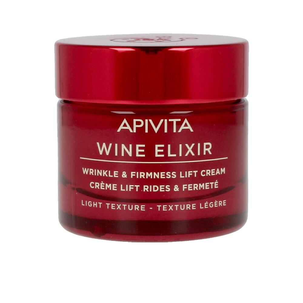 Apivita WINE ELIXIR wrinkle & firmness lift cream light texture Cremas Antiarrugas y Antiedad - Tratamiento Facial Reafirmante