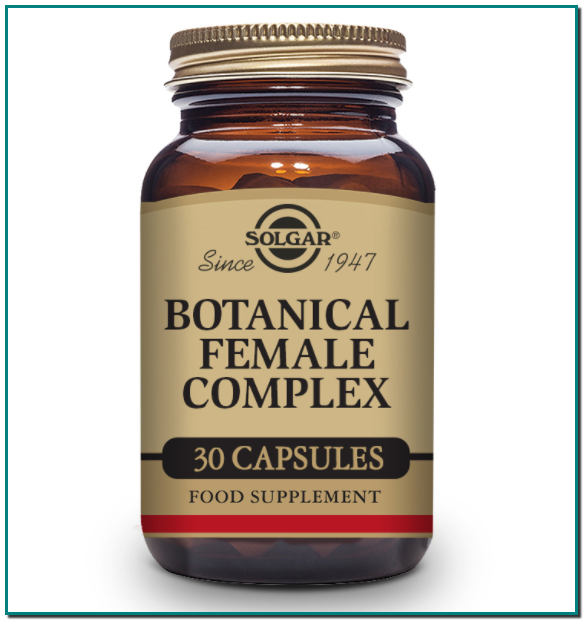 Solgar® Botanical Female Complex para ayudar con las molestias de la menopausia