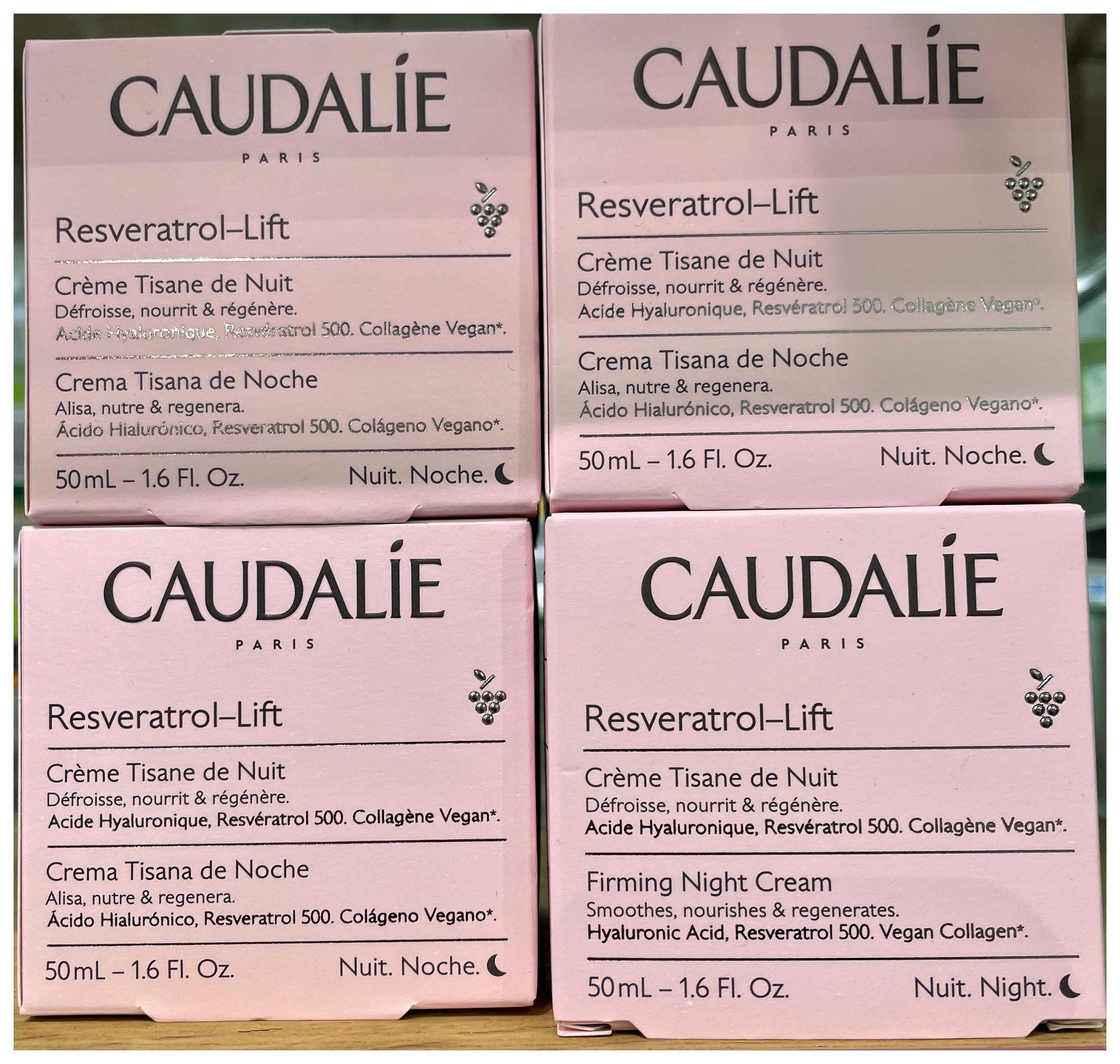 Crema Cachemir Redensificante Resveratrol-Lift | CAUDALIE Esta crema de día corrige las arrugas, reafirma y nutre visiblemente la piel