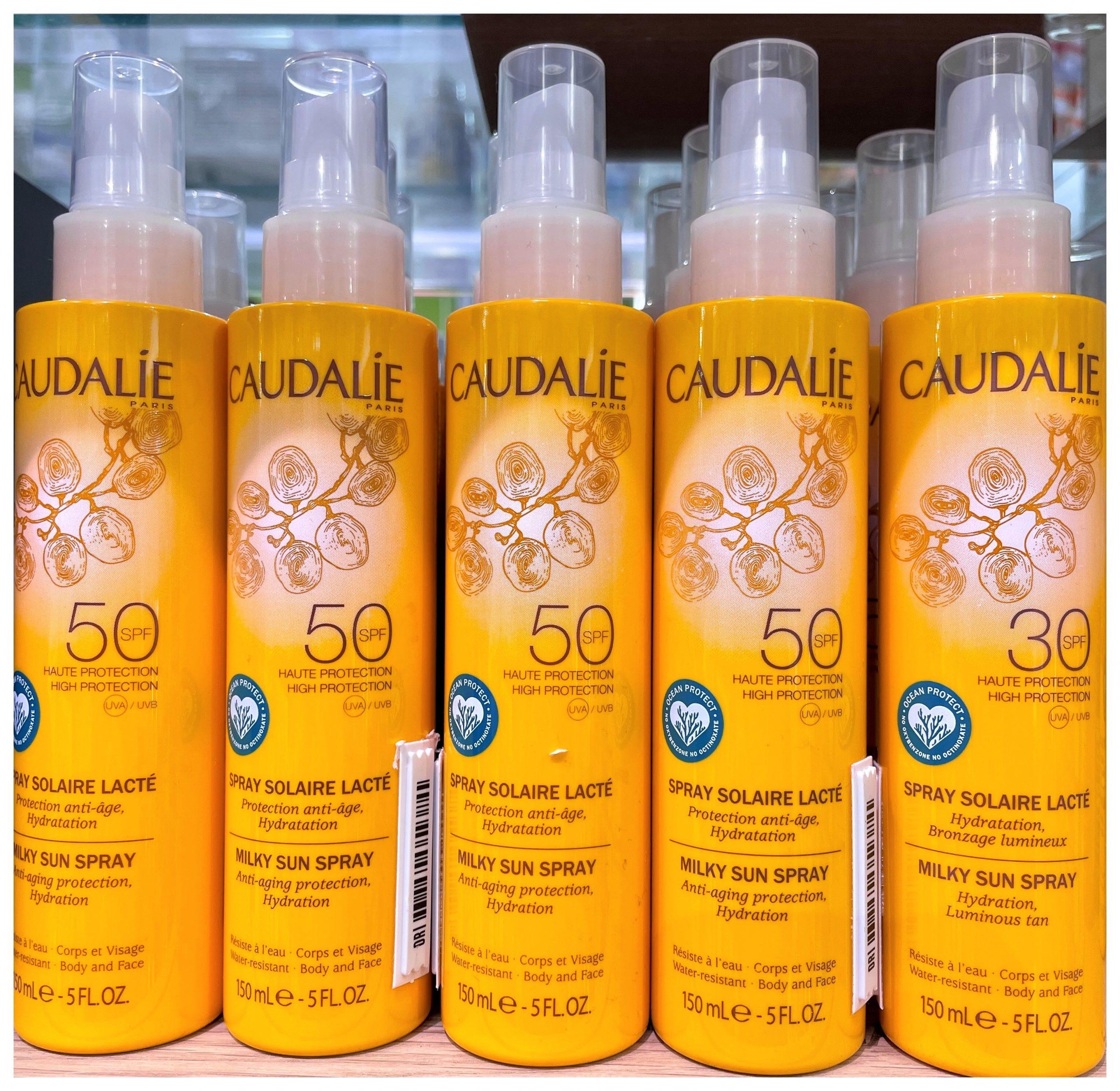 SPRAY SOLAR LÁCTEO SPF50 Protección antiedad rostro y cuerpo, hidratación, bronceado luminoso. Una protección máxima para un bronceado luminoso y duradero, seguro para la piel y para la naturaleza.