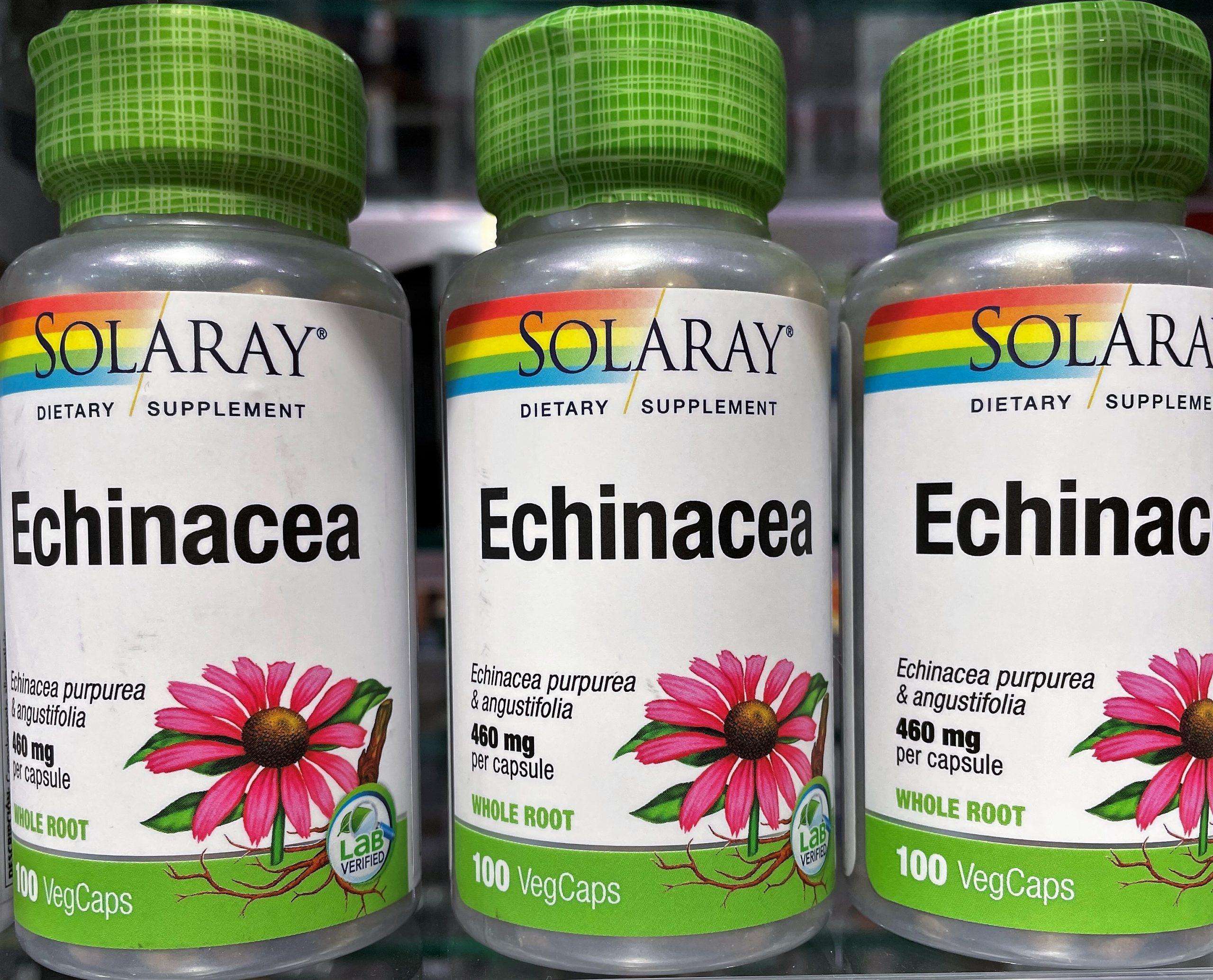 ¿Qué es la equinacea y para qué sirve? Echinacea de Solaray es una planta ampliamente reconocida por suutilidad especialmente en las épocas frías del año