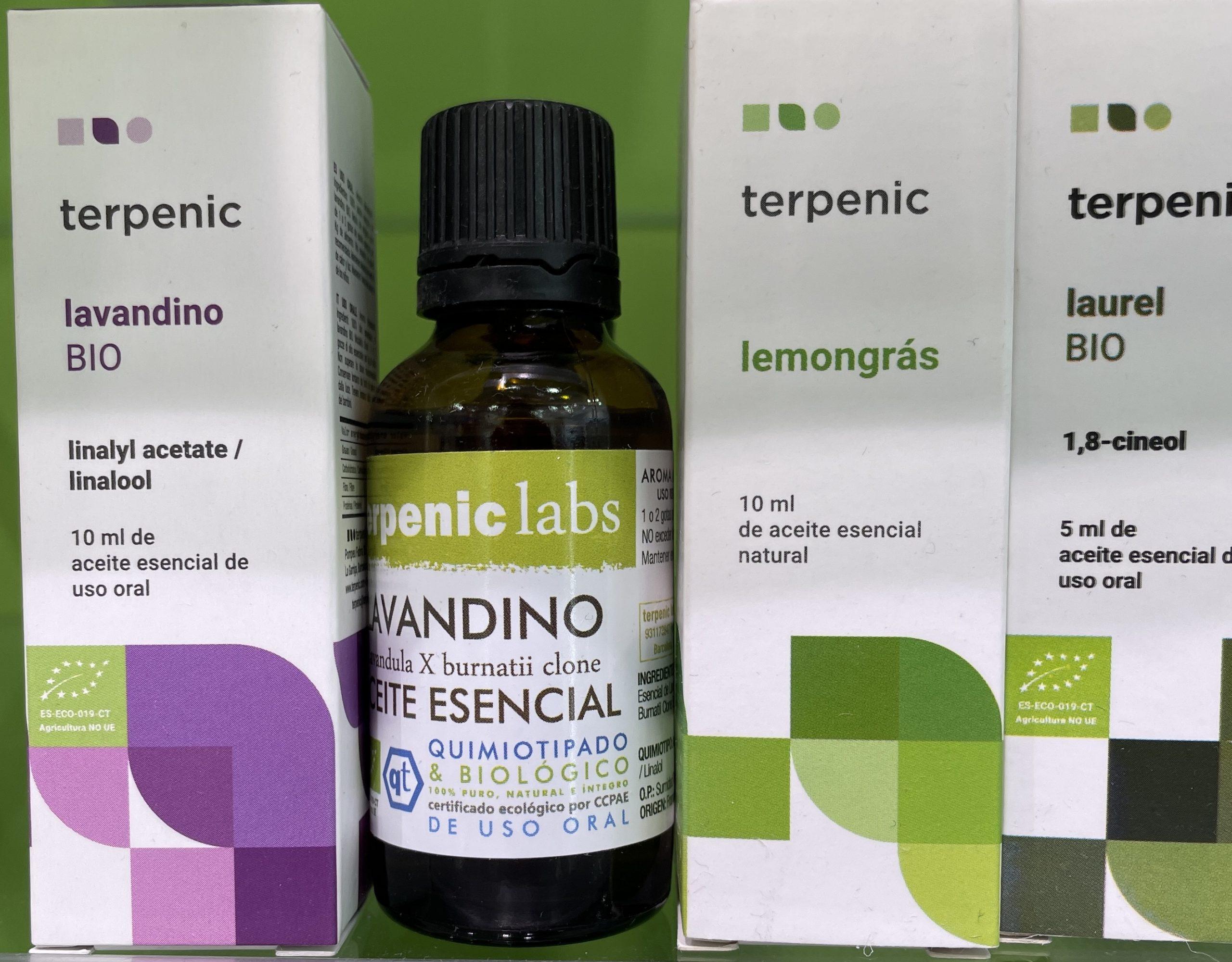 Lavandino - Aceite Esencial Bio - Terpenic Labs - 10 ml Aceite esencial de Lavandino Bio