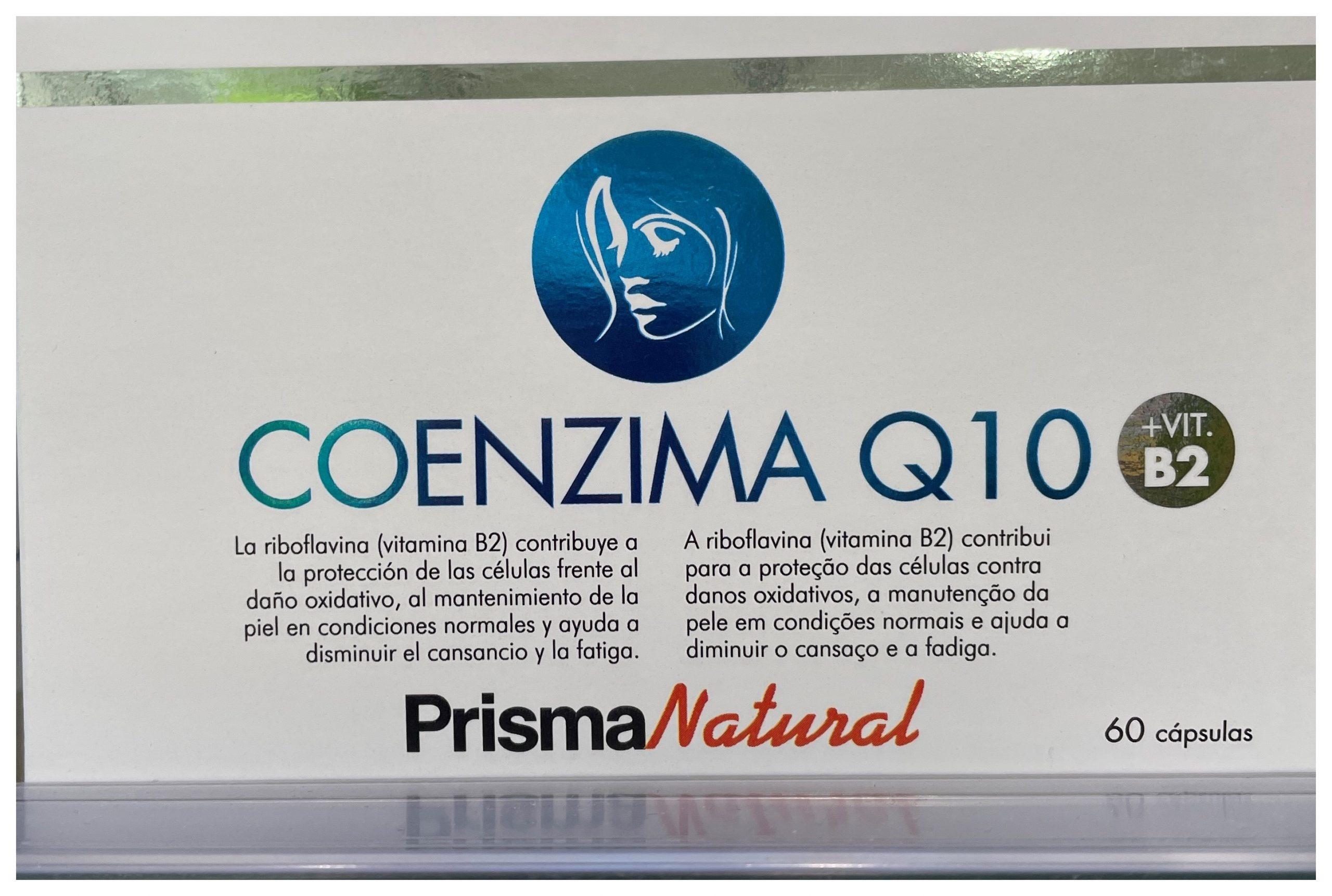 COMPRAR COENZIMA Q10: ANTIOXIDANTE, ANTIENVEJECIMIENTO Y PROTECTOR CARDIOVASCULAR. DE PRISMA NATURAL EN GRAN FARMACIA ONLINE ANDORRA