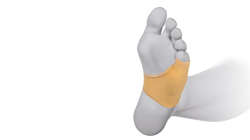 Comforsil Protector de Elástico para el 5º dedo Silicona con Anillo Fabricado con tejido elástico y con una almohadilla de silicona en su interior
