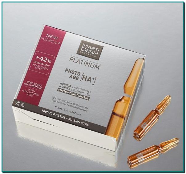 Martiderm 15 % vitamina ➕ 3 % Proteum 89+ ➕ ácido hialurónico = Photo-Age HA+