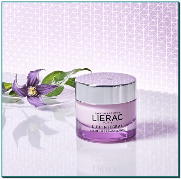 Lierac crema Lift Integral con extracto de tulipán púrpura y concentrado de hyalu-3, corrige el relajamiento del rostro para que recuperes la expresión positiva