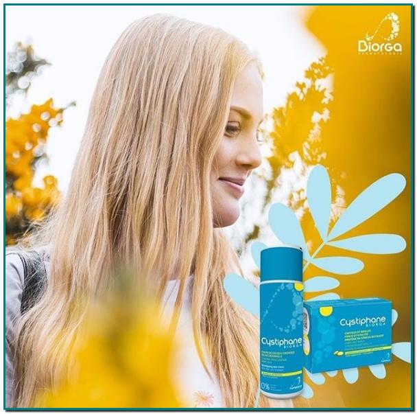 Estás harta/o de perder cabello Cystiphane comprimidos y para una eficacia mayor utiliza Cystiphane champú Anticaída