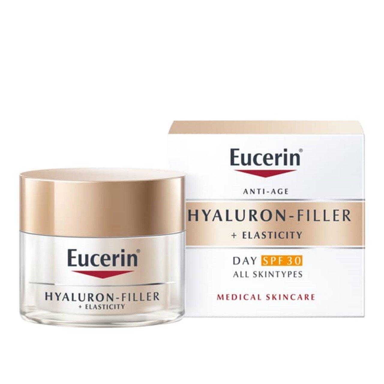 Hyaluron-Filler + Elasticity crema de manos correctora de manchas de la edad FPS 30 con Thiamidol®