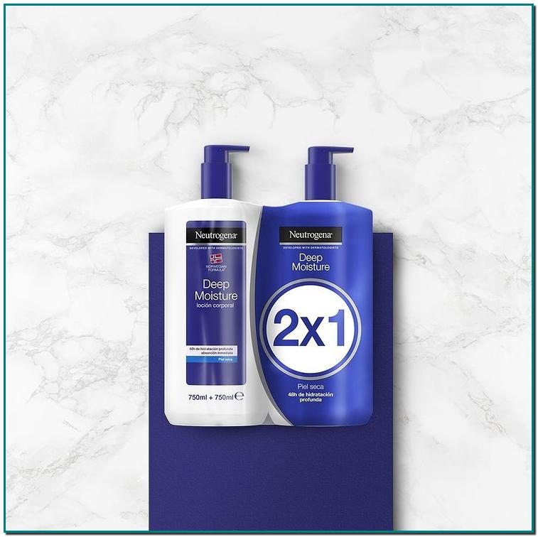 Neutrogena y disfruta de todos los beneficios de la Loción Corporal Hidratación Profunda durante más tiempo para una piel tersa, suave y con una agradable sensación de bienestar