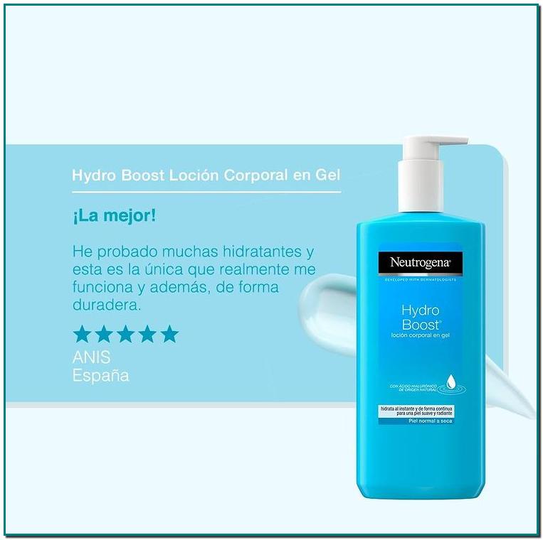 Neutrogena🤩 Hydro Boost Loción Corporal Hidratante en Gel es refrescante y su fórmula ultraligera enriquecida con ácido hialurónico un ingrediente utilizado en el cuidado de la piel que puede retener hasta 1.000 veces su peso en agua. 💦
