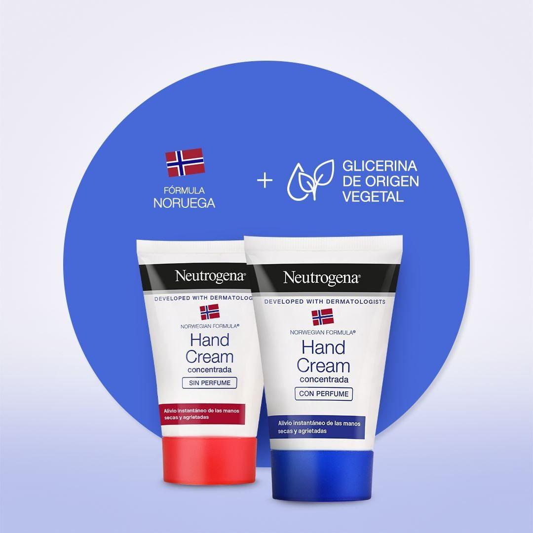 ¿Sabes todo lo que puedes encontrar en cada una de nuestras Cremas de Manos Concentradas de Neutrogena? Su fórmula contiene ingredientes naturales que ayudan a: 💙 Mantener la hidratación. ❤️ Proteger la barrera cutánea de la piel. 💙 Dejar tu piel suave y flexible.