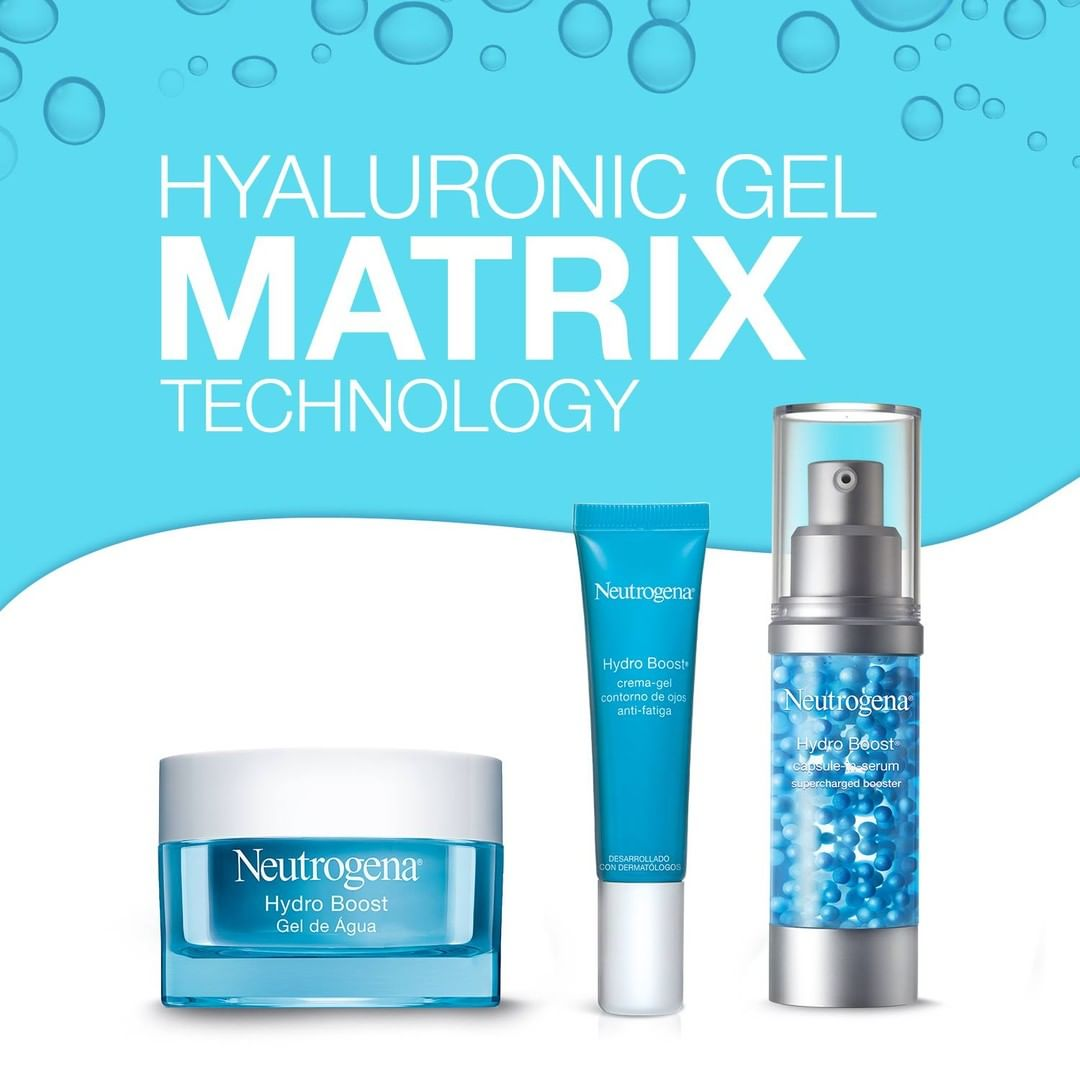 HydroBoost y descubre porque tiene todo lo que necesitas y más para mantener la piel completamente hidratada esta primavera.