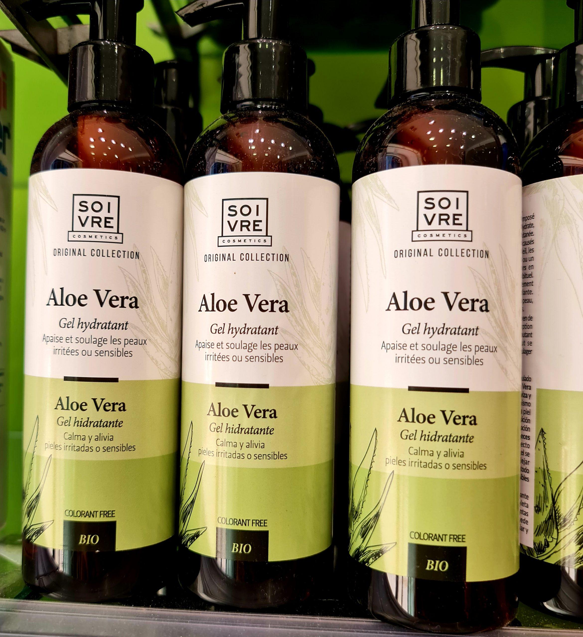 SOIVRE COSMETICS Gel hidratante Aloe vera Calma y alivia Pieles irritadas o sensibles